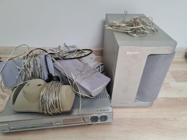 Kino domowe Panasonic model HTS 3100 DVD uszkodzone 5,1 subwoofer