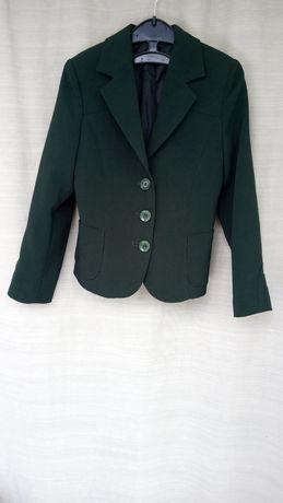 Школьный пиджак Мелана. В идеале. Зеленый, бутылочный 122 - 128