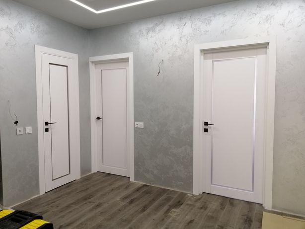 Двери межкомнатные и входные, установка дверей