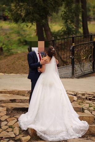 Свадебное платье в новом состояние