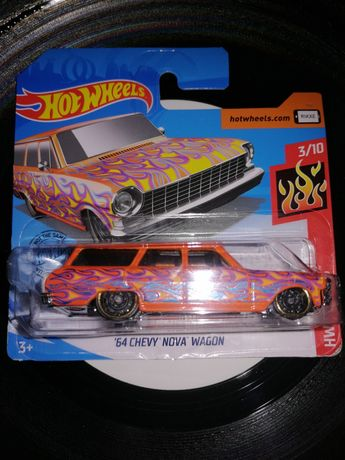 "Hotwheels ""64 chevy nova wagon"