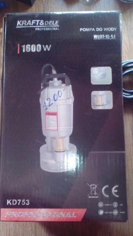 насос помпа pompa kraft kd753 wqd7-15-1.1 1600w
