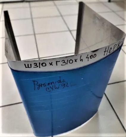 Короб для вытяжки декоративный нержавейка