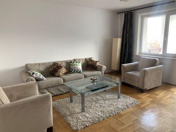 3 pokojowe Mieszkanie do wynajęcia Mokotów - Metro Wilanowska