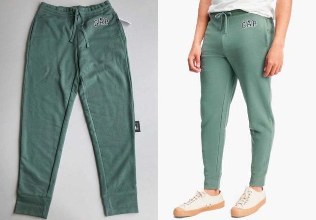 Штаны спортивные Gap Logo Fleece Joggers Green 221236311, джогеры