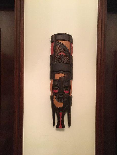 Máscara Africana de Parede