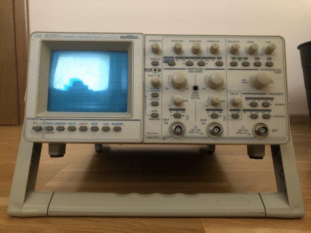 Oscyloskop cyfrowo-analogowy METRIX OX8050 2x60MHz