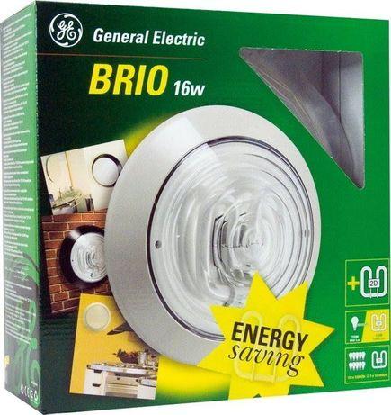 Светильник встраиваемый General Electric 2D Brio с лампой 2D 16W Black