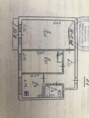 Продам квартиру  2-х комнатную с мебелью в Терновском  районе . СевГок