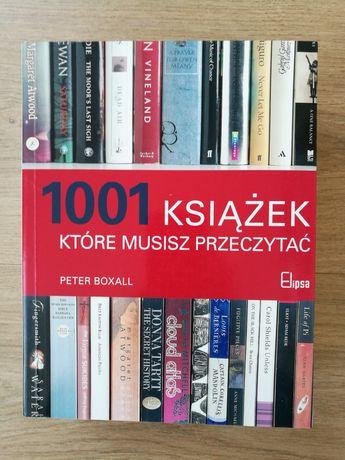 1001 książek, które musisz przeczytać / Boxall / literatura, filologia