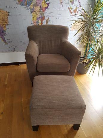 Fotel z podnożkiem IKEA