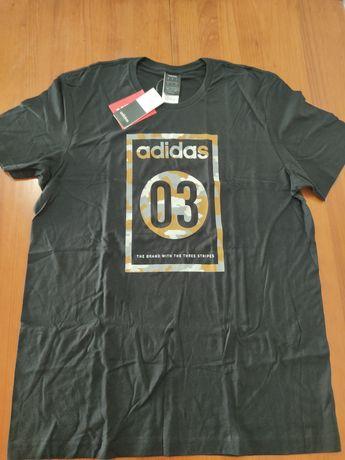 T-shirts Adidas Originais NOVAS tam L grande