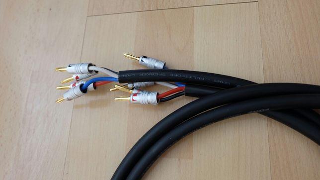 Kabel głośnikowy KLOTZ bi wire bi amping