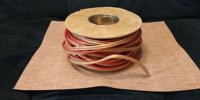 Dobrej jakości AUDIO przewód 2x 3,5 mm około 25 m