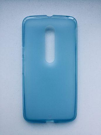 Case etui Motorola X NOWY sylikonowy błękitny