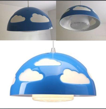 Candeeiro de teto IKEA para quarto de criança, novo