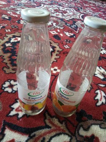 Бутылки для сока и водочные