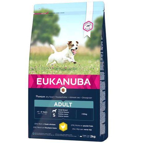 Eukanuba Adult Small Breed - cães adultos porte pequeno