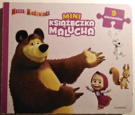 Książka z puzzlami Masza i Niedźwiedź