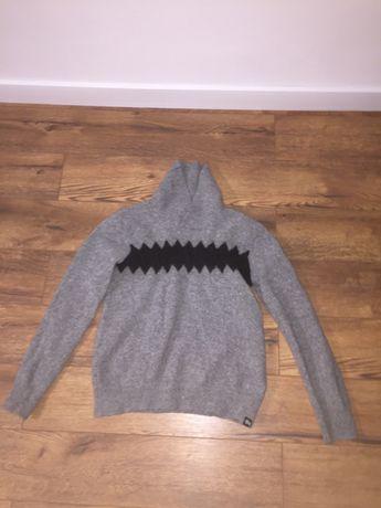 Stussy sweter damski piękny wełniany S