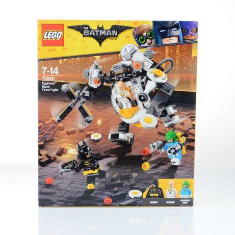 Lego Batman Movie 70920 Egghead Mech Food Fight NOWY z GRATISAMI