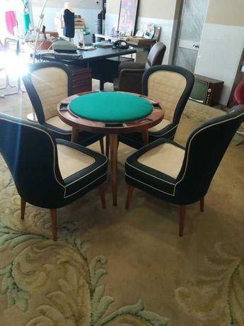 Mesa e Cadeiras de Jogo Vintage ( Anos 50 )