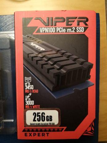 Dysk SSD M2 Patriot VIPER 256 Gb - na gwarancji