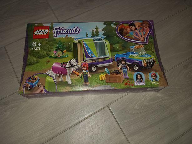 Lego friends przyczepa 41371 przyczepa z konikami konie