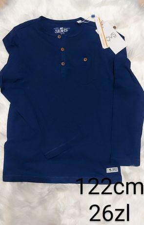 bluzka 122cm chlopiec