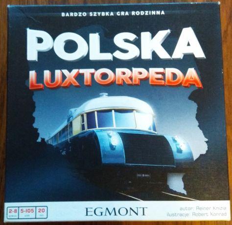 Gra karciana pamięciowa Polska Luxtorpeda jak nowa