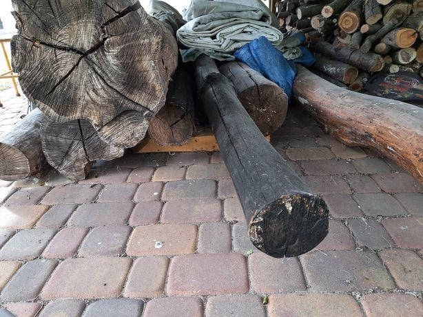 Bale, kłody, dłużyce, drewno, akacja