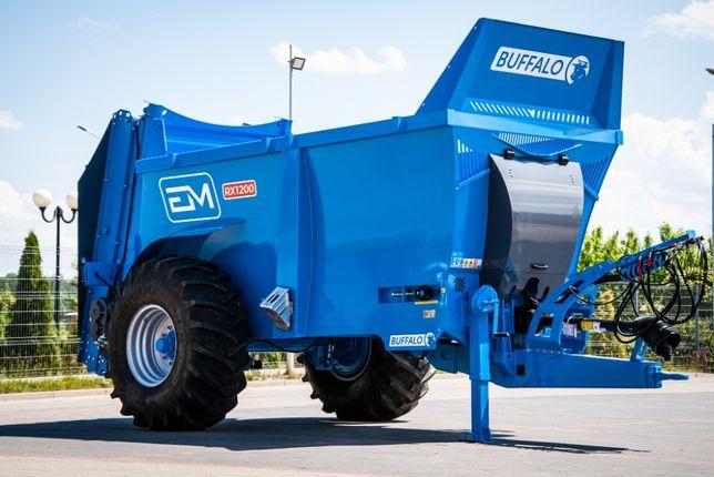 Rozrzutnik obornika EM Buffalo RX 1200 (12,2 m3)