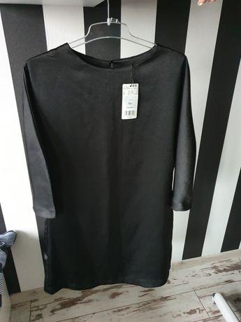 Sukienka Mango L czarna elegancka