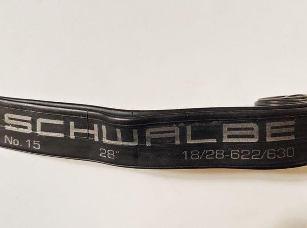 Schwalbe велосипедна камера 28'x18-28C шосе
