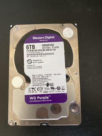 Disco rigido 6 tb Western Digital purple