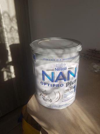 Mleko NAN 1 nie otwarte tylko odbiór osobisty