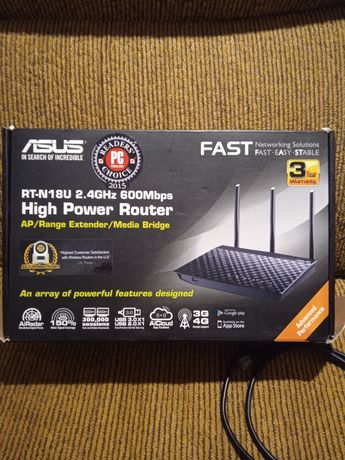 Гигабитный роутер Asus RT-N18U