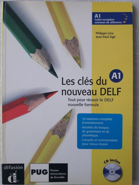 Les clés du nouveau DELF A1 (podręcznik)