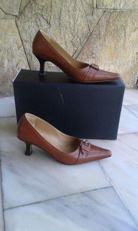 Sapatos Fivela - Camel