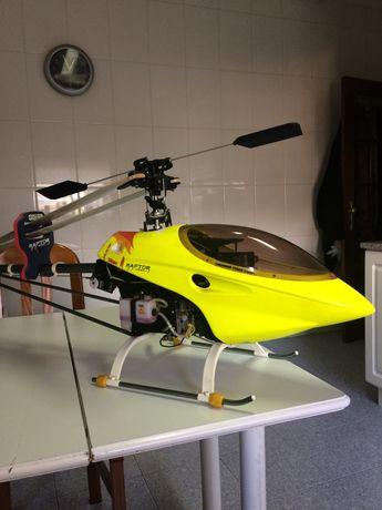 Vendo helicóptero Raptor 50 titan