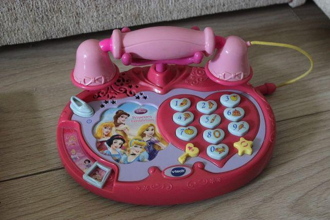 Telefon i zabawki interaktywne i edukacyjne.