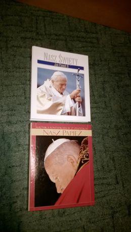 2 Albumy Nasz Papież i Nasz Święty Jan Paweł II