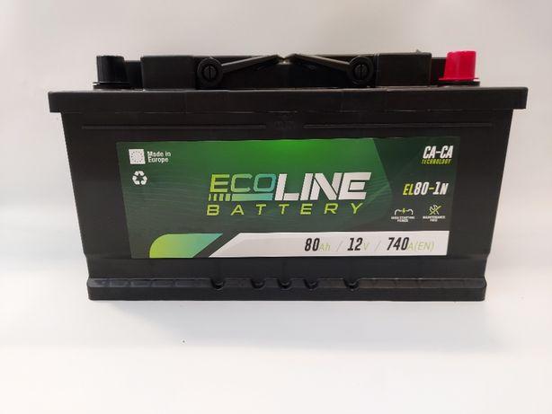 Akumulator 12V ECOLINE 80Ah 740 A