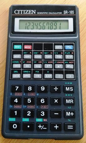 Kalkulator naukowy Citizen SR-165