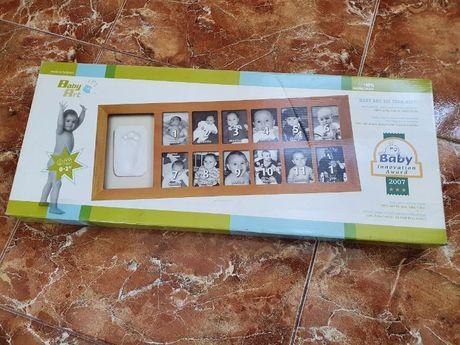 Рамочка со слепком Baby Art Первый год