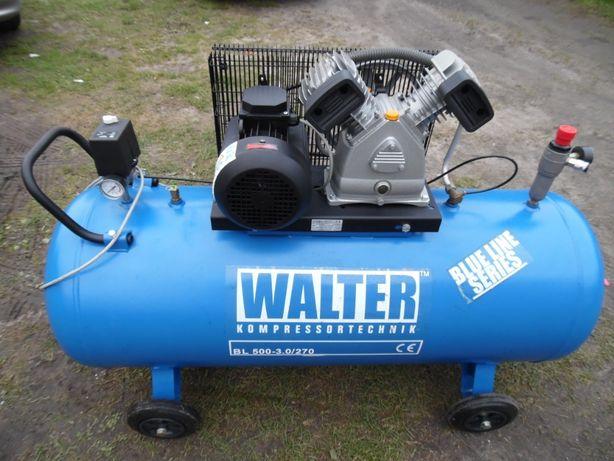 Kompresor sprężarka powietrza Walter 270l PRODUKCJI WŁOSKIEJ 2016r