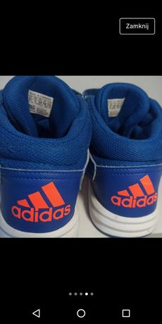 Buty Adidas Altasport MID niebieskie