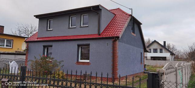 Piętro domu- aneks+2pok.+łazienka+pokój 18m2 na parterze,całość100m2