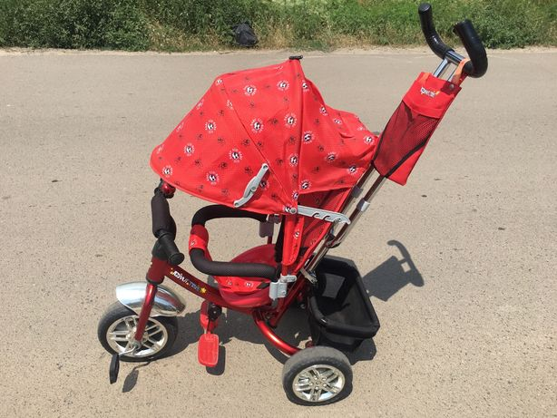Azimuth lamborghinni  red велосипед с родительской ручкой