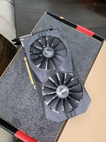 Видеокарта Radeon Asus Strix RX 570 4 гб